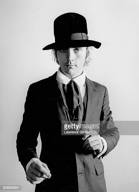 Portrait of British actor Terence Stamp in cotume for 'Toby Dammit' one section of the anthology film 'Spirits of the Dead' Rome Italy 1968