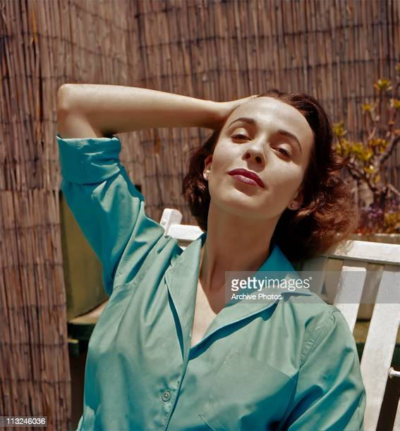 Portrait of British actress Claire Bloom in the 1960's