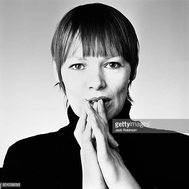 Portrait of British actress Glenda Jackson New York New York January 1971