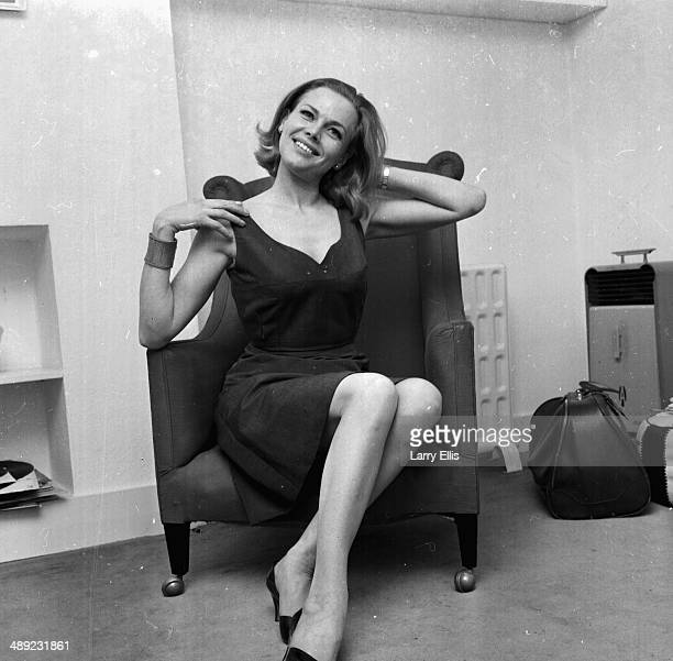 Portrait of British actress Honor Blackman 1964