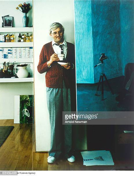 Portrait of British artist David Hockney May 28 1978 in London England