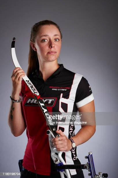 Portrait of British athlete Bryony Pitman photographed in Bath England on June 29 2017 Pitman is best known as a recurve archer and a member of Team...