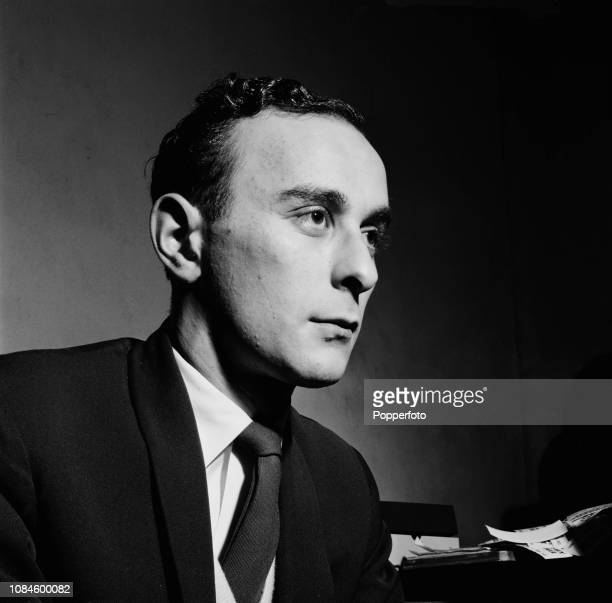 Portrait of British author and music journalist Ray Coleman of Melody Maker magazine London December 1960