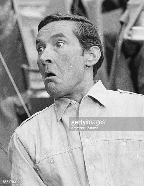 Portrait of British comedic actor Kenneth Williams circa 1968