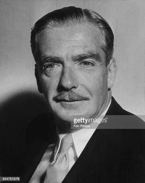 Portrait of British Foreign Secretary Sir Anthony Eden circa 1951