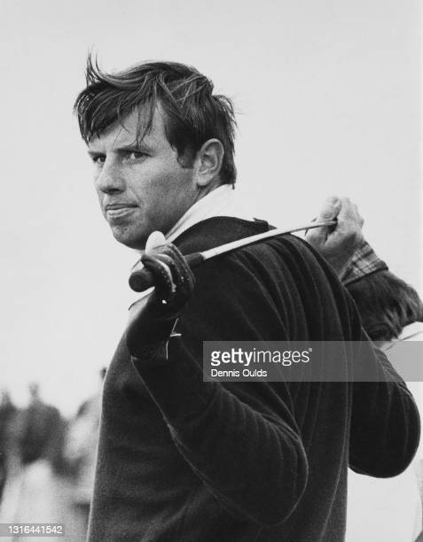 Portrait of British golfer Peter Oosterhuis during the Penfold PGA Golf Tournament on 23rd May 1975 at the Royal St George's Golf Club, Sandwich,...