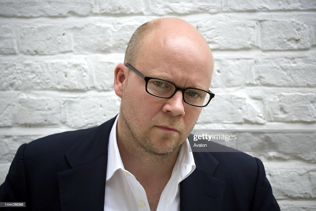 Portrait of British journalist and author Toby Young