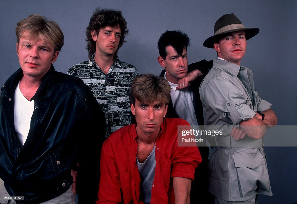 Portrait Of The Fixx : News Photo