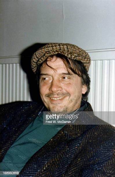 Portrait of British photographer David Bailey London England April 23 1985