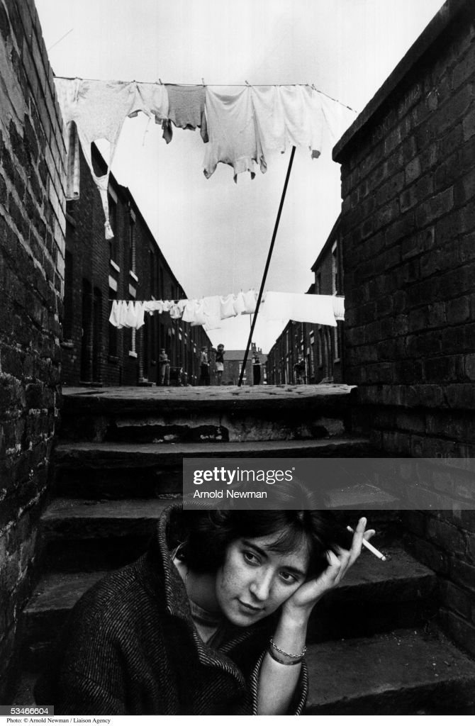 Portrait of British playwright Shelagh Delaney August 7, 1961 in Manchester, England.