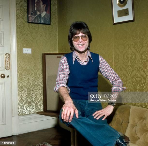 Portrait of British pop musician Sir Cliff Richard OBE London England 1970