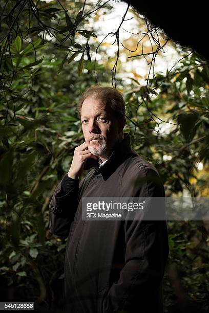 Portrait of British science fiction and fantasy author Adam Roberts photographed at his home in Ascot on November 9 2015