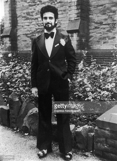 Portrait of British serial killer Peter Sutcliffe, a.k.a. 'The Yorkshire Ripper,' on his wedding day, August 10, 1974.