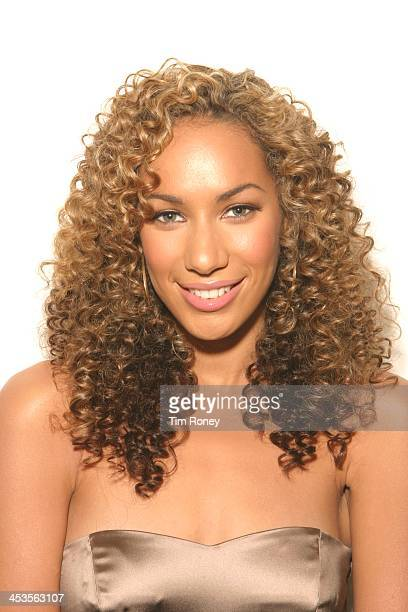 Portrait of British singer Leona Lewis London December 2006
