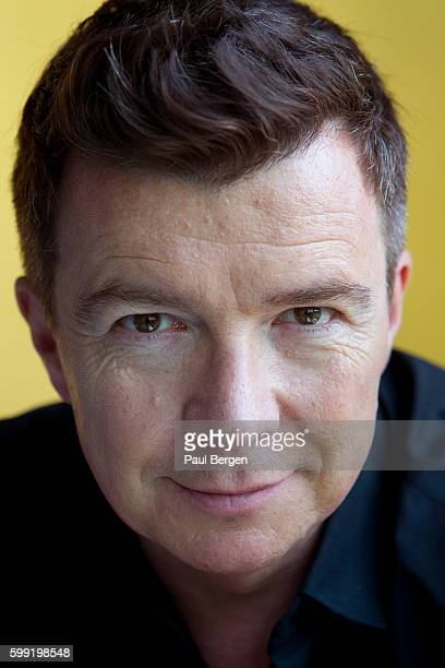 Portrait of British singer Rick Astley Amsterdam Netherlands 12th May 2016