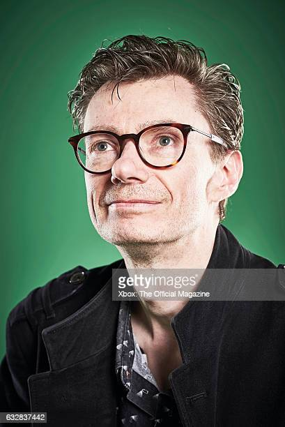 Portrait of British video game developer Chris Sutherland photographed in Bath on May 4 2016 Sutherland is best known as the director of...