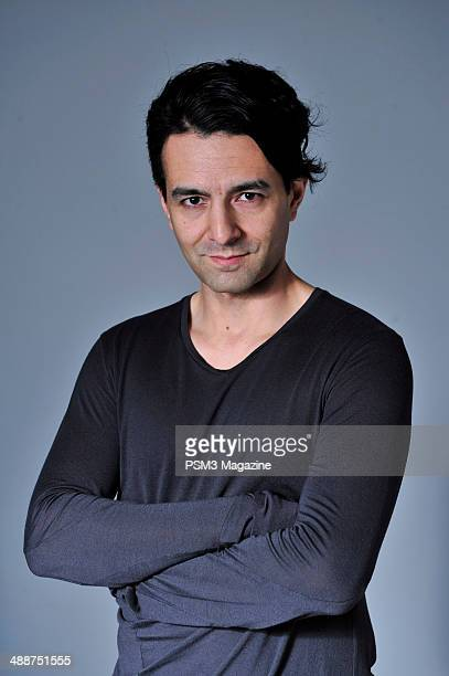 Portrait of British video games developer Tameem Antoniades, chief creative director of Ninja Theory, photographed at the Ninja Theory offices in...