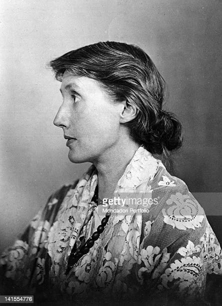 Portrait of British writer Virginia Woolf 1920s