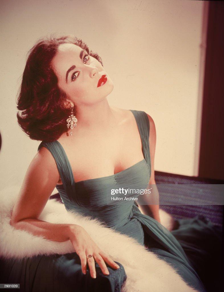 Portrait Of Elizabeth Taylor : News Photo