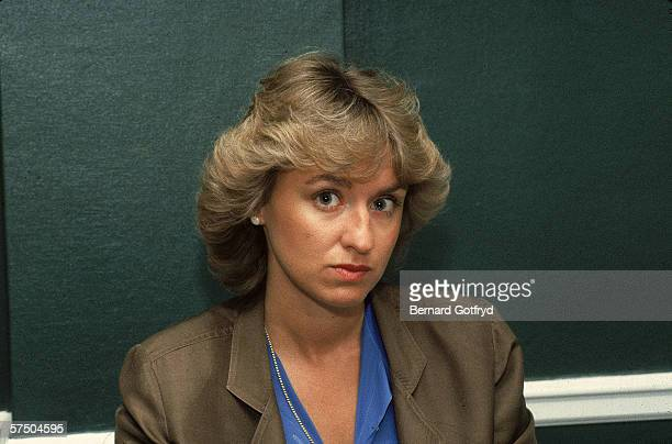 Portrait of Britishborn American journalist and magazine editor Tina Brown early 1980s