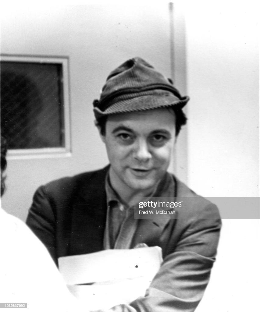 Portrait Of John Wilcock : News Photo