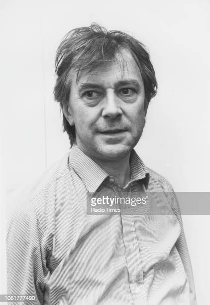 Portrait of broadcaster and activist Ray Gosling photographed for Radio Times in connection with the BBC Radio 4 program 'A Taste of Japanese'...