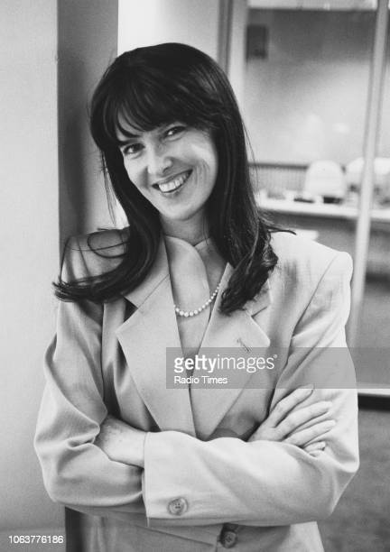 Portrait of broadcaster Cathy McGowan circa 1985