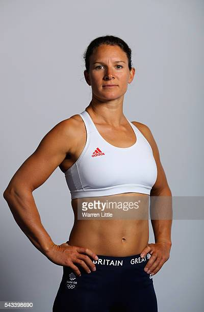 A portrait of Bryony Shaw a member of the Great Britain Olympic team during the Team GB Kitting Out ahead of Rio 2016 Olympic Games on June 28 2016...