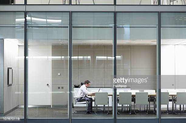 portrait of business man working late - remote location stock pictures, royalty-free photos & images