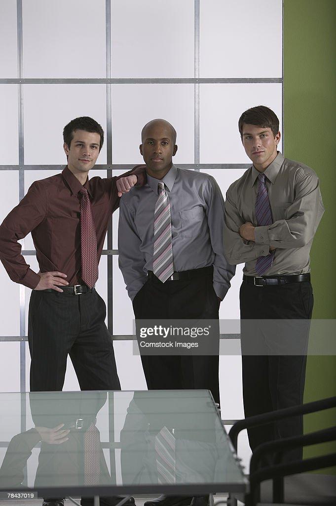 Portrait of business men : Stockfoto