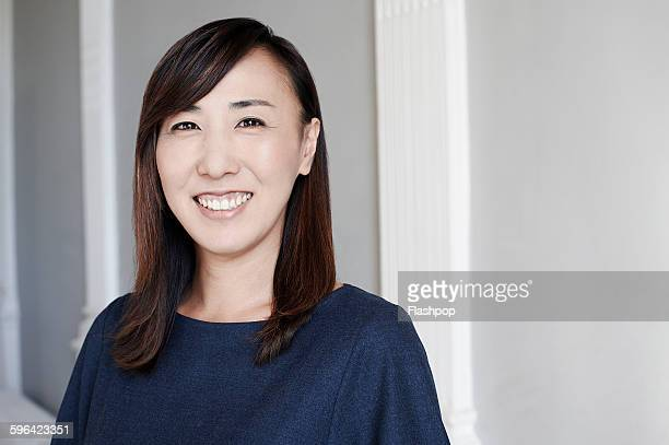 portrait of business person - nur japaner stock-fotos und bilder