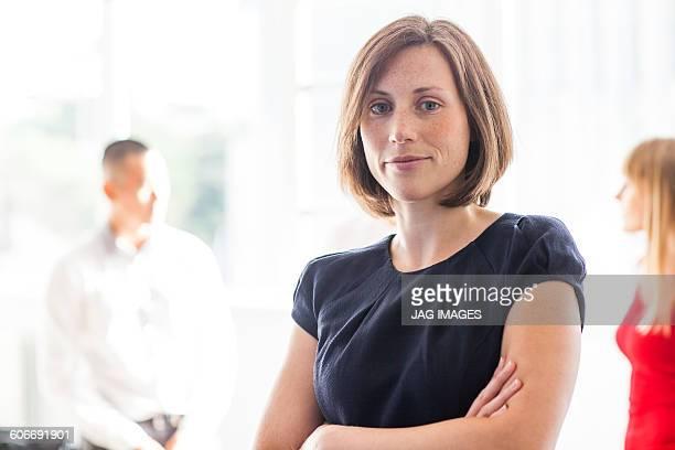 portrait of business woman designer
