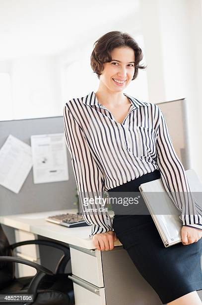 Portrait of business woman in office