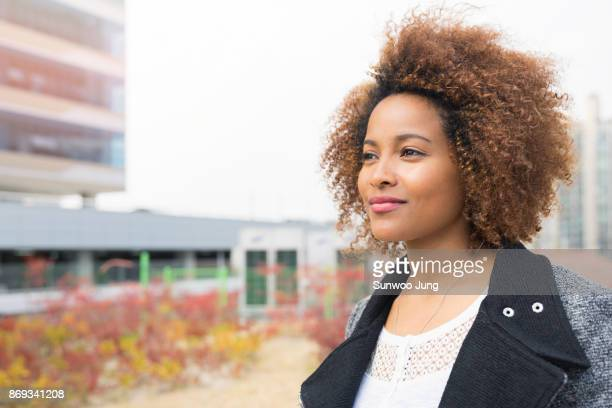 portrait of business woman - looking away stock pictures, royalty-free photos & images