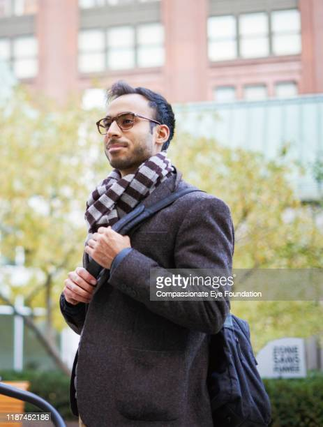 portrait of businessman in city - striped blazer stock pictures, royalty-free photos & images