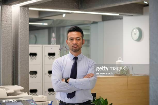 40 代のビジネスマンの肖像画 - 40代 ストックフォトと画像