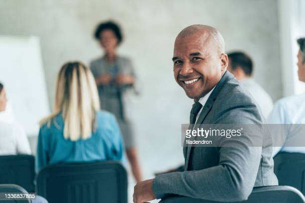 portrait of businessman - attending stock pictures, royalty-free photos & images