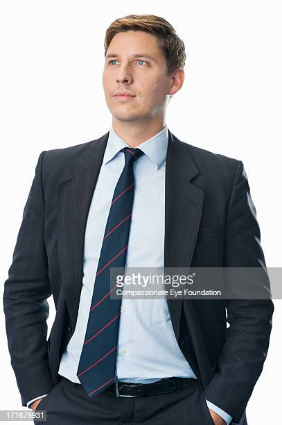 portrait of businessman - three quarter length stock pictures, royalty-free photos & images