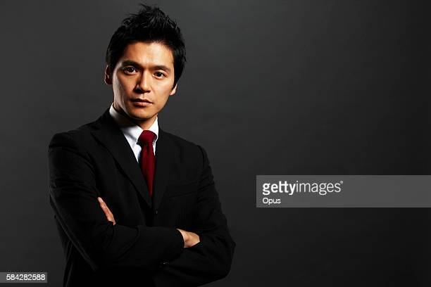 portrait of businessman - 30代 ストックフォトと画像