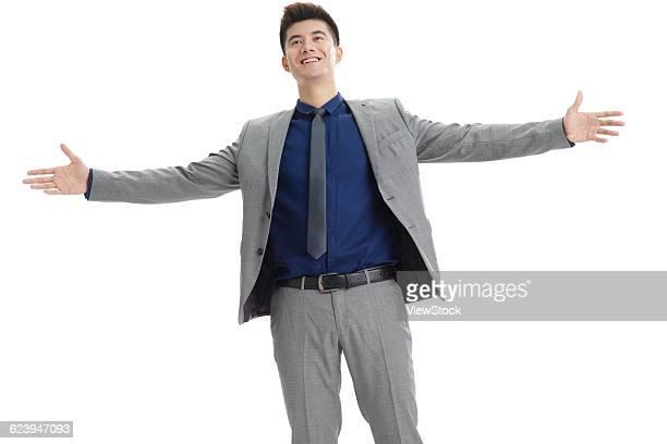 portrait of businessman - 息を止める ストックフォトと画像