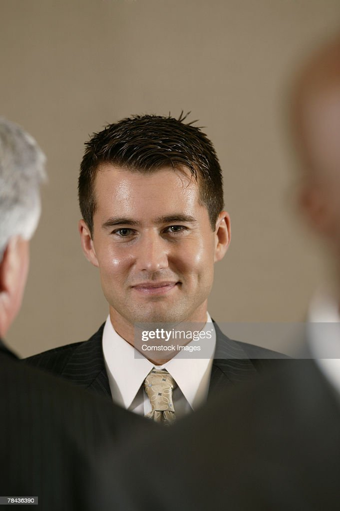Portrait of businessman : Stockfoto