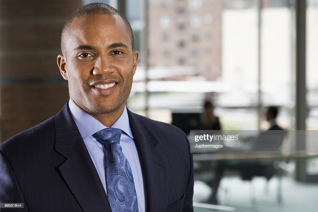 Portrait of businessman : Stock Photo