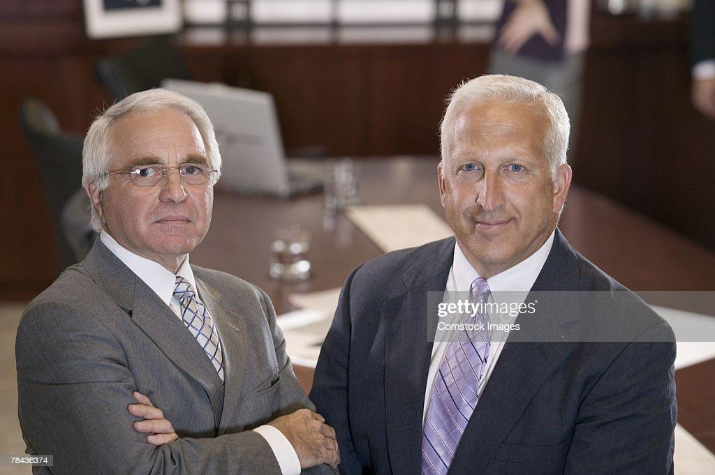 Portrait of businessmen : Stockfoto