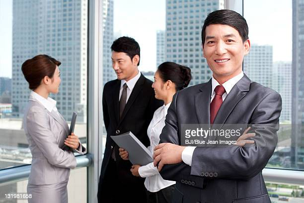 Portrait of businesspeople at the office