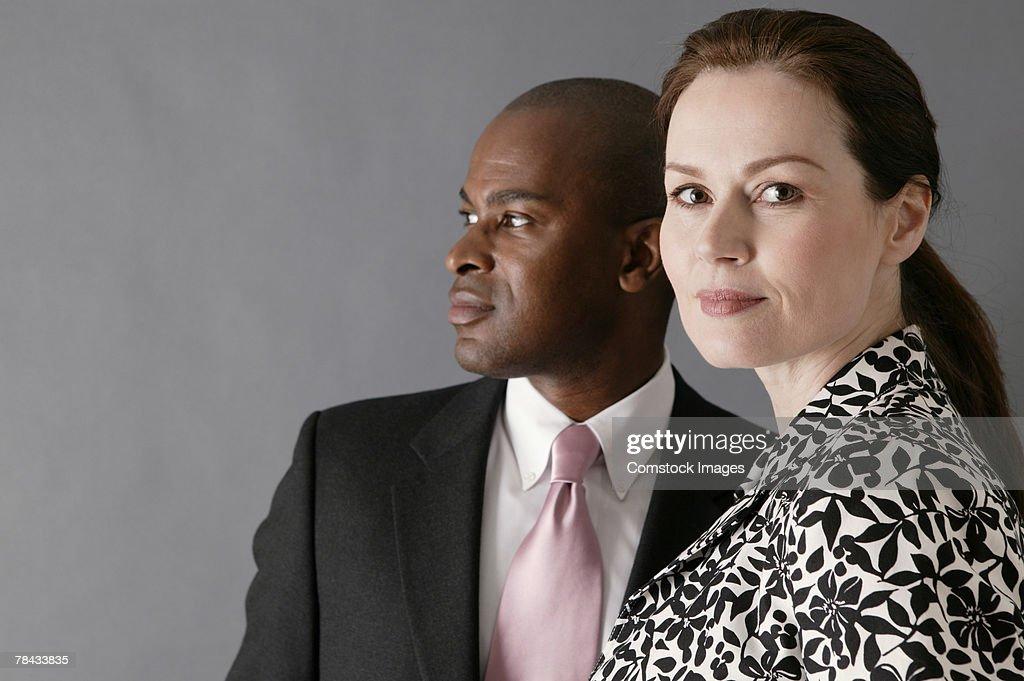 Portrait of businesspeople : Stockfoto