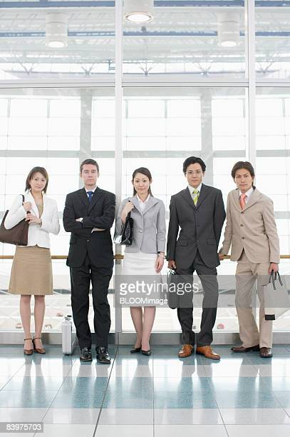 Portrait of businesspeople