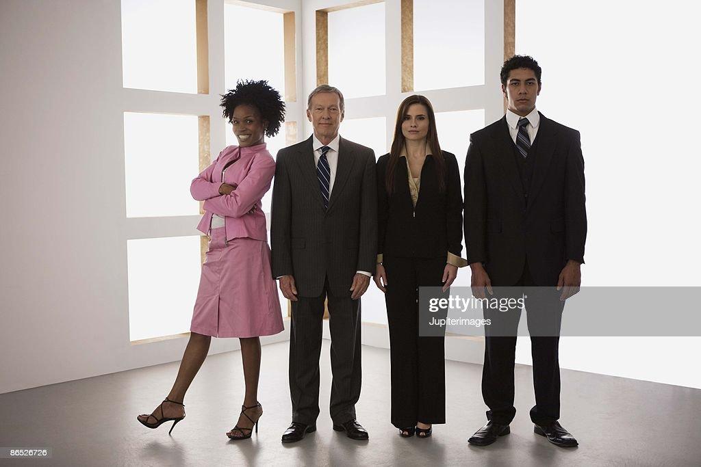 Portrait of businesspeople : Stock Photo