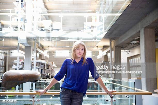 Portrait of  businesswoman in modern office