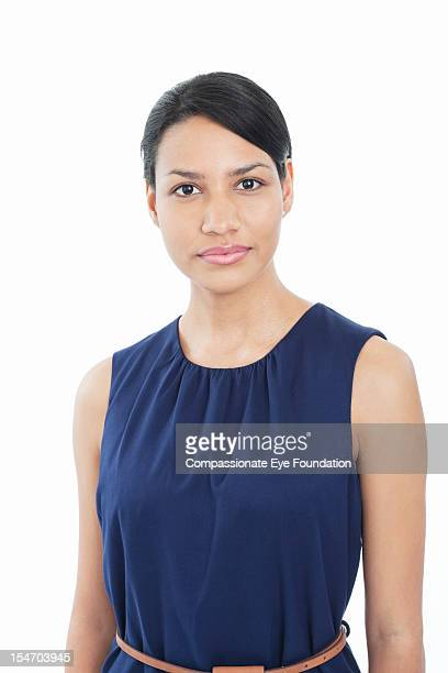 portrait of businesswoman - compassionate eye foundation stock pictures, royalty-free photos & images