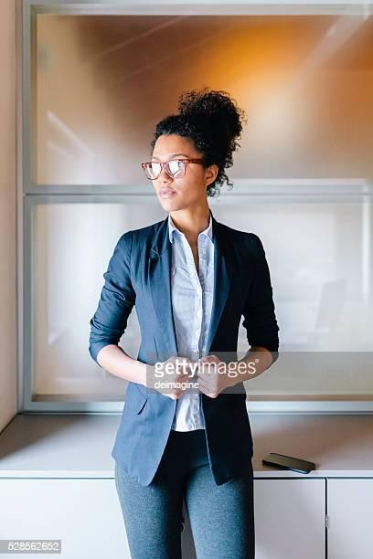 Porträt der Geschäftsfrau